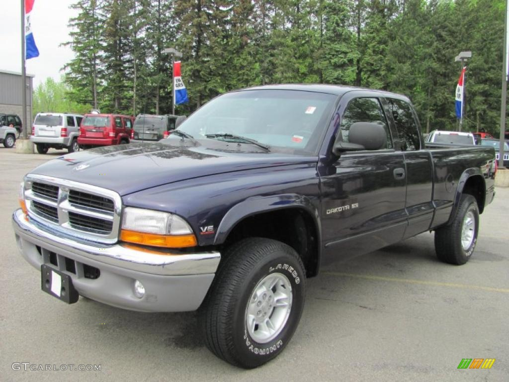 1999 deep amethyst pearl dodge dakota slt extended cab 4x4. Black Bedroom Furniture Sets. Home Design Ideas