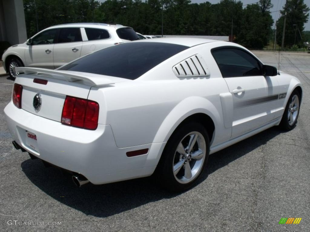 Performance White 2007 Ford Mustang Gt Cs California Special Coupe Exterior Photo 49732195