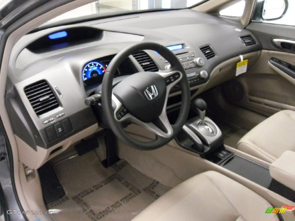 Beige Interior 2010 Honda Civic Hybrid Sedan Photo 49743157 94 Del Sol Wiring Diagram