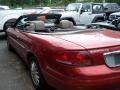 2002 Ruby Red Pearl Chrysler Sebring LXi Convertible  photo #3