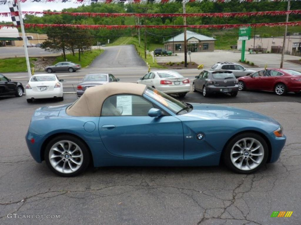 2003 Maldives Blue Metallic Bmw Z4 2 5i Roadster 49748422