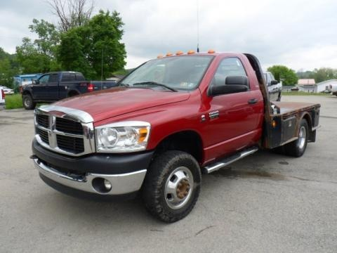 2008 Dodge Ram 3500 SLT Regular Cab 4x4 Chassis Data, Info and Specs
