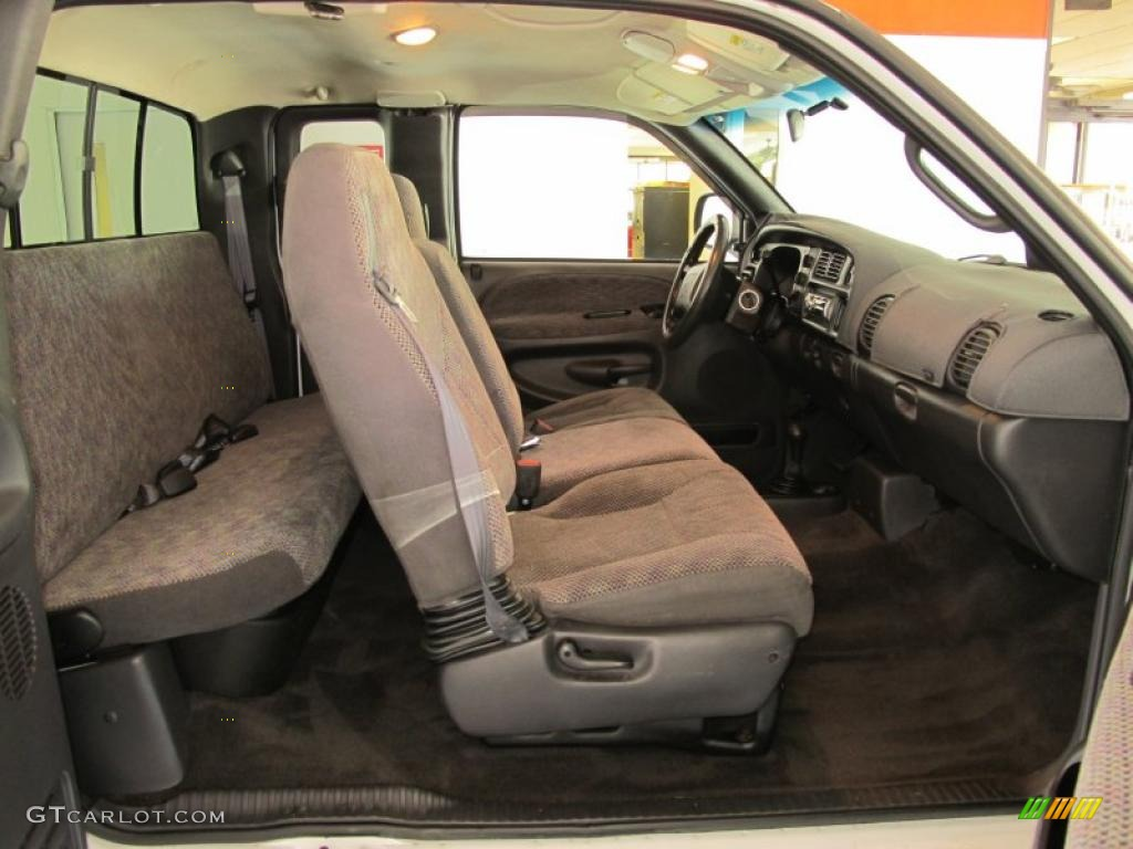 Mist Gray Interior 2001 Dodge Ram 2500 Slt Quad Cab 4x4 Photo 49755442