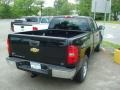 2011 Black Chevrolet Silverado 1500 LS Extended Cab 4x4  photo #2