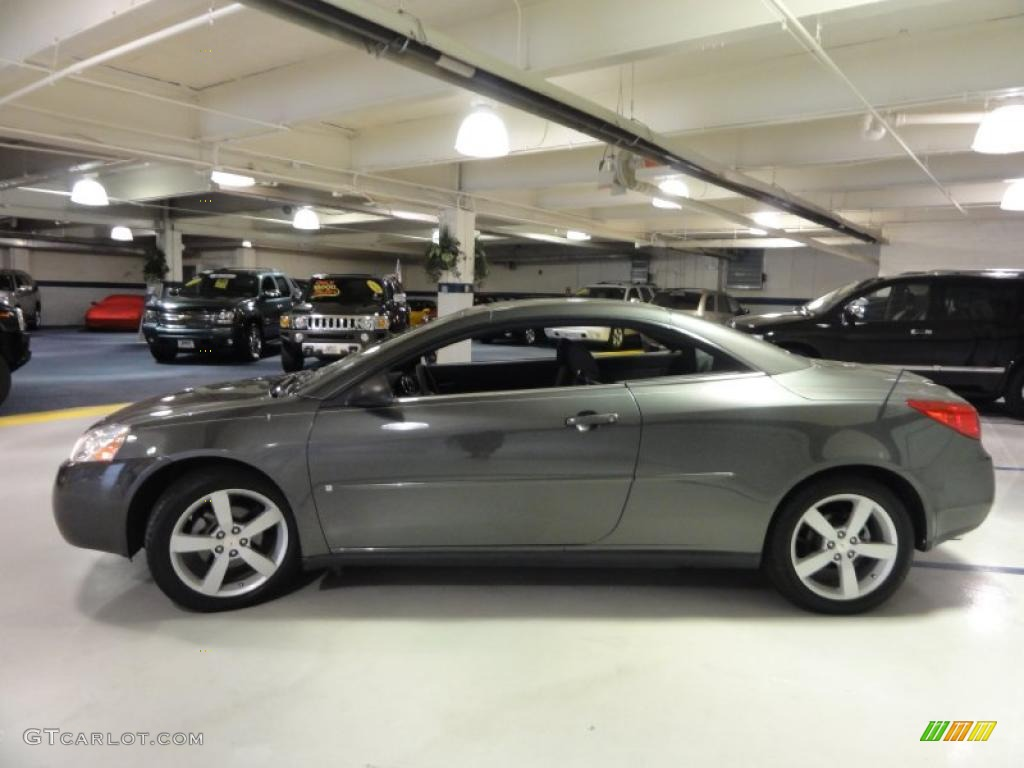 granite metallic 2006 pontiac g6 gt convertible exterior. Black Bedroom Furniture Sets. Home Design Ideas