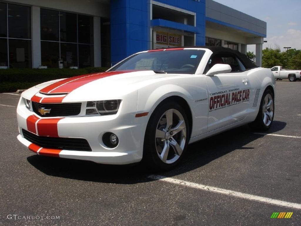 2011 Summit White Chevrolet Camaro SS Convertible