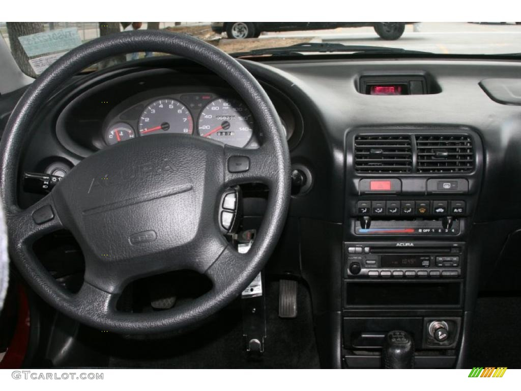 1997 Acura Integra LS Coupe Black Dashboard Photo #49762252 | GTCarLot.com