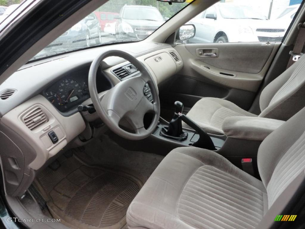 1998 Honda Accord Lx Sedan Interior Photo 49764382