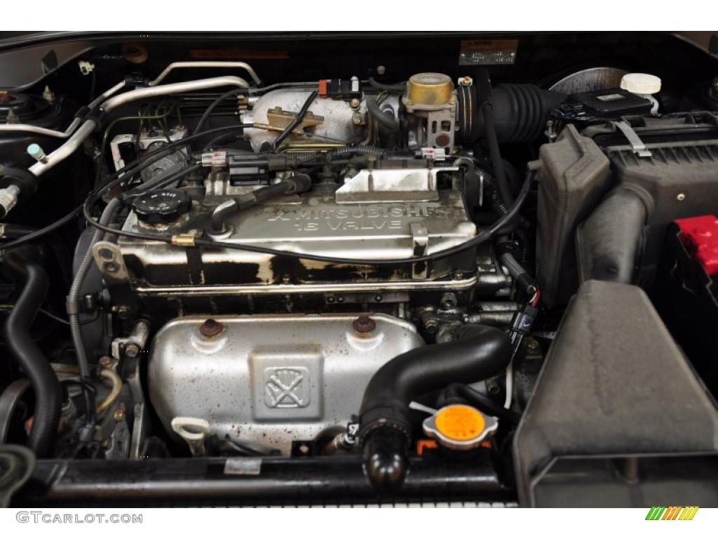 2003 Mitsubishi Lancer LS 2.0 Liter SOHC 16-Valve 4 ...
