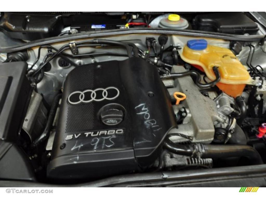 1999 Audi A4 1 8t Quattro Sedan 1 8 Liter Turbocharged