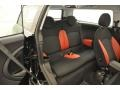 Black/Rooster Red Interior Photo for 2009 Mini Cooper #49765910