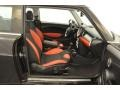 Black/Rooster Red Interior Photo for 2009 Mini Cooper #49765924