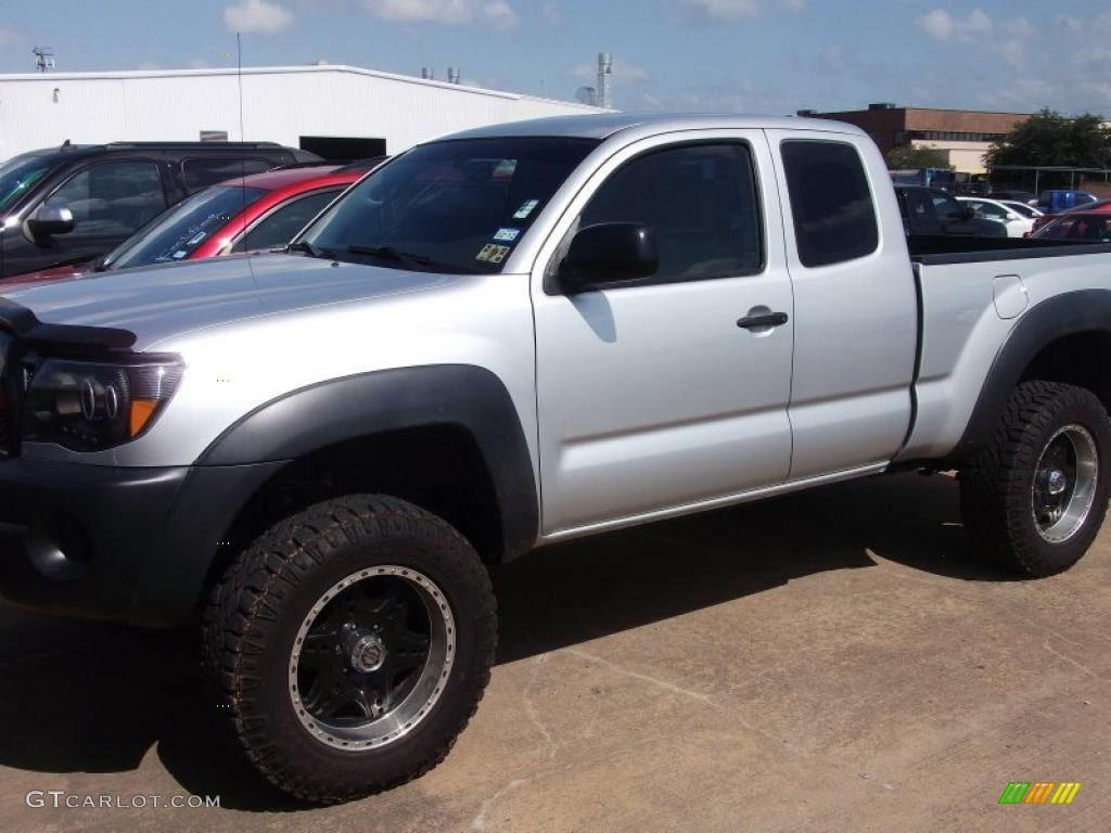 2005 silver streak mica toyota tacoma prerunner access cab 49748642 car color. Black Bedroom Furniture Sets. Home Design Ideas