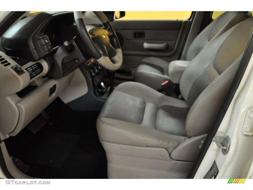 Smokestone Interior 2003 Land Rover Freelander Se Photo