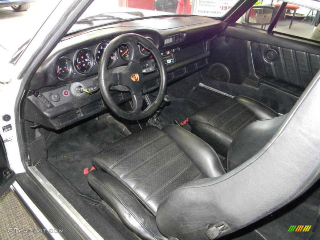 Black Interior 1980 Porsche 911 Turbo Coupe Photo