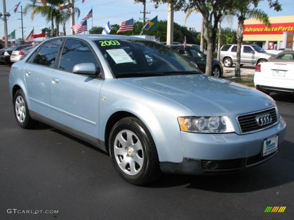 2003 Crystal Blue Metallic Audi A4 1 8t Sedan 49748676 Gtcarlot Com Car Color Galleries
