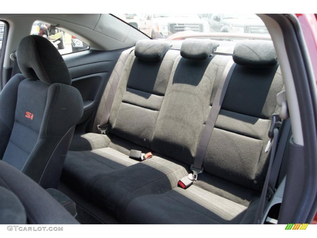 2008 Honda Civic Si Coupe Interior Photo #49783922