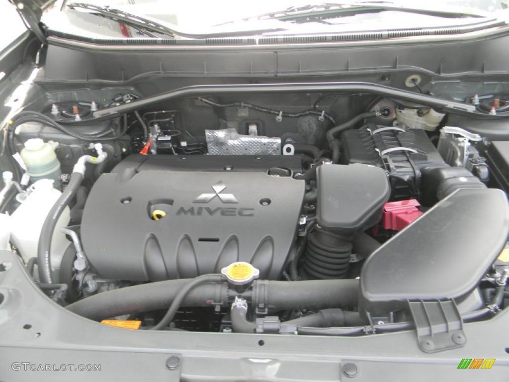 2008 Mitsubishi Outlander Se 4wd 2 4 Liter Dohc 16 Valve Mivec 4 Cylinder Engine Photo 49788503