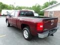 2009 Deep Ruby Red Metallic Chevrolet Silverado 1500 LT Extended Cab  photo #19