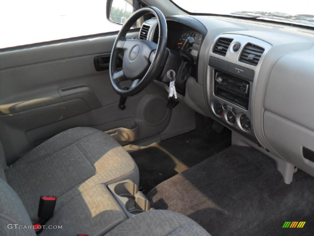 Pewter interior 2007 gmc canyon sl regular cab photo for Inside 2007 online