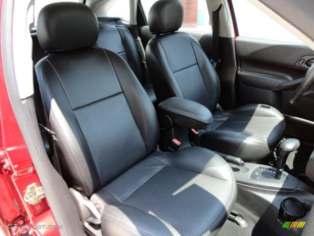 Charcoal Charcoal Interior 2005 Ford Focus Zx5 Ses