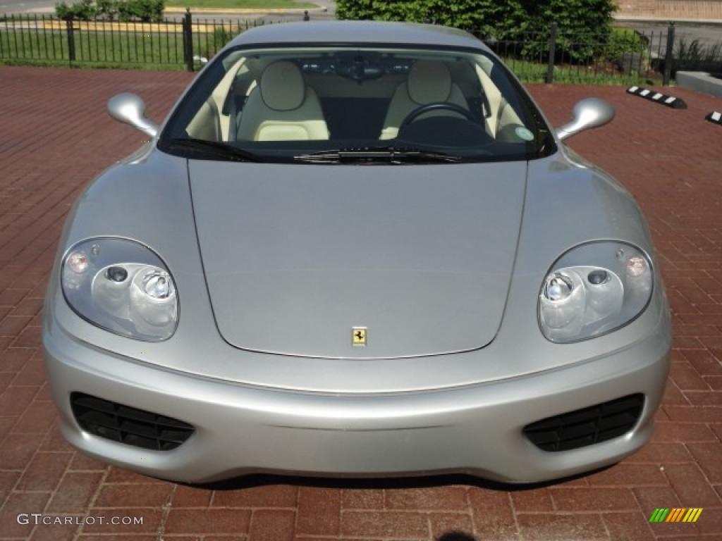 Silver 2002 Ferrari 360 Modena F1 Exterior Photo 49800642