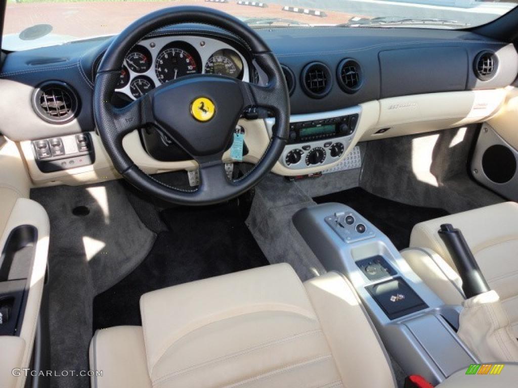 Rent a Ferrari 360 Modena F1 by Ace Drive Car Rental |Ferrari 360 Modena Interior
