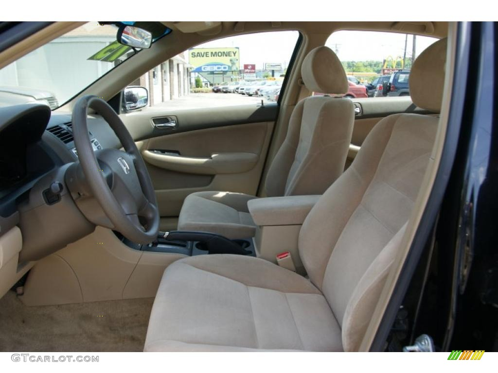 Ivory Interior 2006 Honda Accord Lx Sedan Photo 49802793