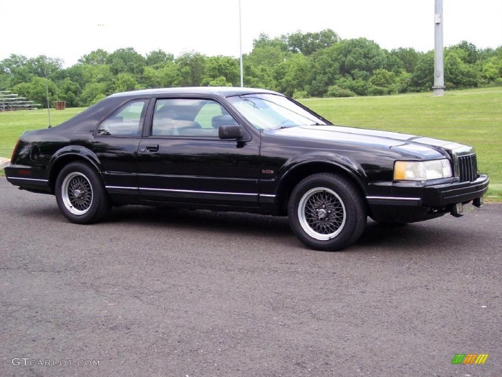 1992 black lincoln mark vii lsc 49799221 photo 7 car color galleries. Black Bedroom Furniture Sets. Home Design Ideas
