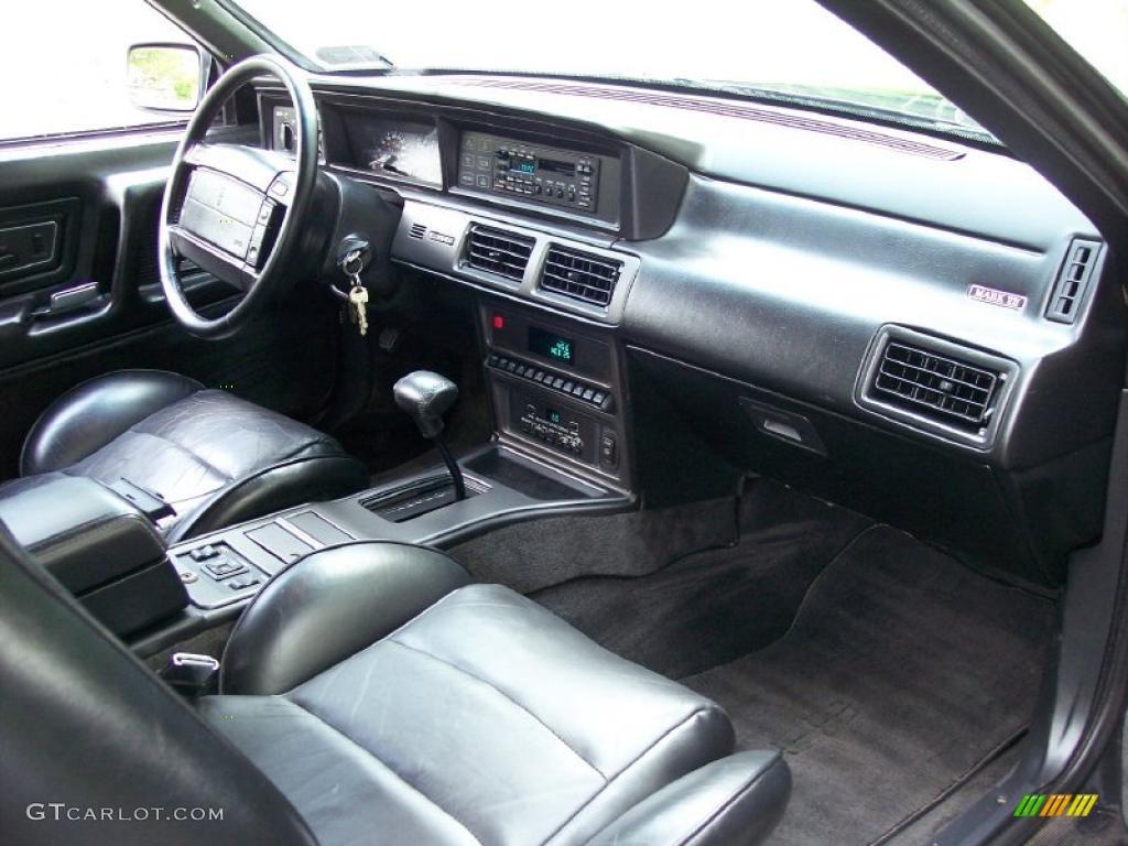 1992 lincoln mark vii lsc black dashboard photo 49804362. Black Bedroom Furniture Sets. Home Design Ideas
