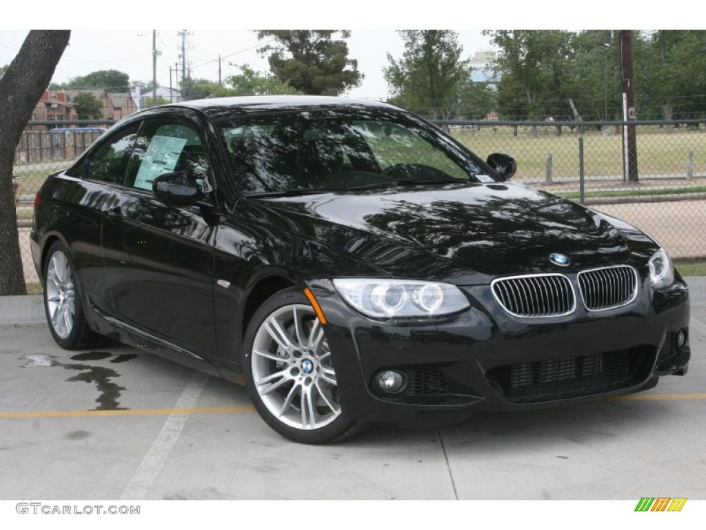 2011 Black Sapphire Metallic BMW 3 Series 335i Coupe ...