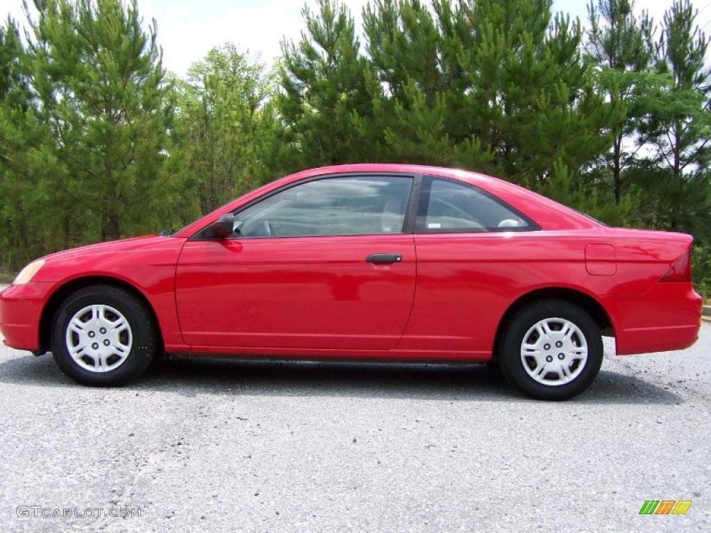 rallye red 2001 honda civic lx coupe exterior photo 49807134. Black Bedroom Furniture Sets. Home Design Ideas
