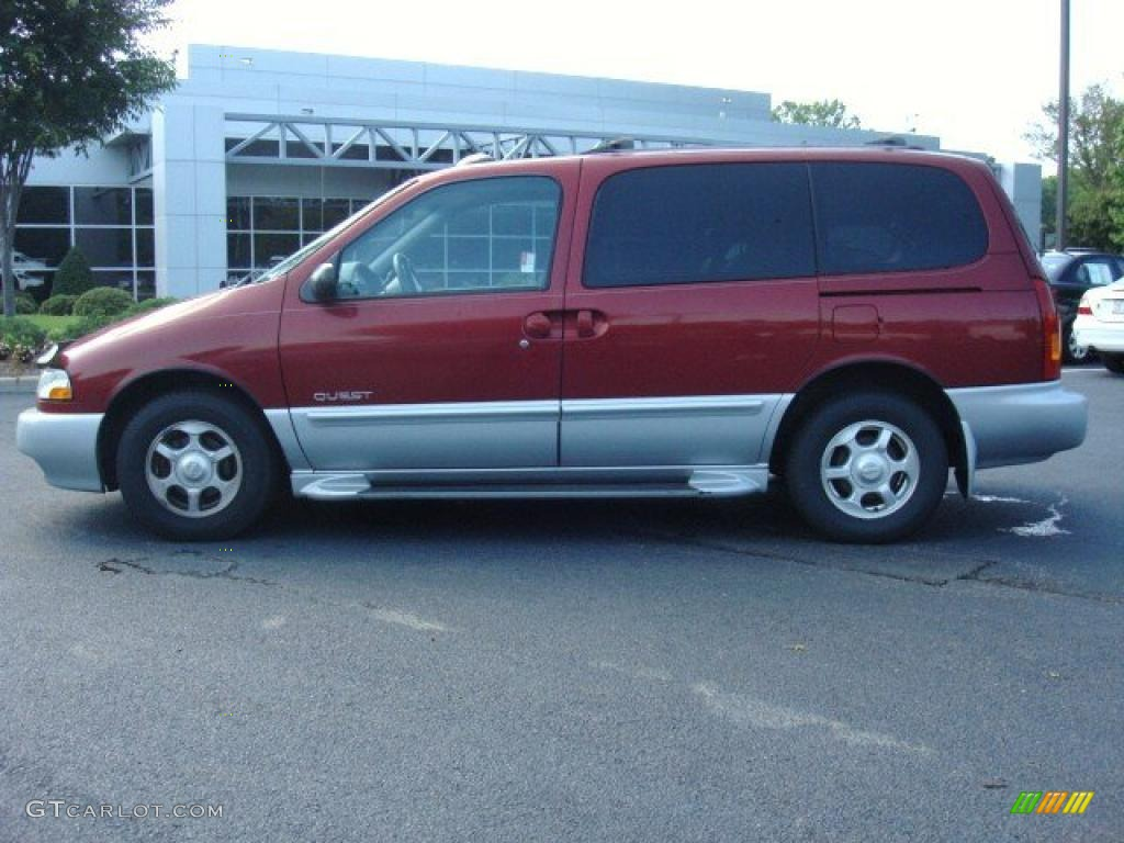 Sunset red 2000 nissan quest gle exterior photo 49811067