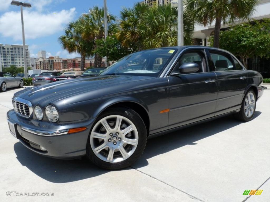 Slate metallic 2005 jaguar xj xj8 l exterior photo for Jaguar xj exterior