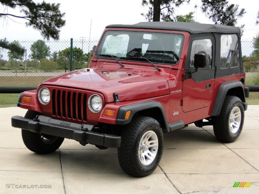 Chili Pepper Red Jeep Paint
