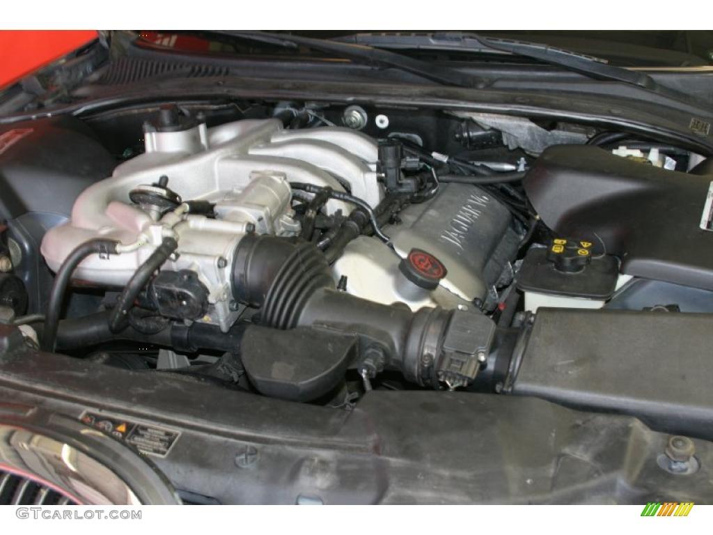 2001 Jaguar S Type 3 0 3 0 Liter Dohc 24 Valve V6 Engine