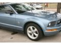 2007 Windveil Blue Metallic Ford Mustang V6 Premium Coupe  photo #12