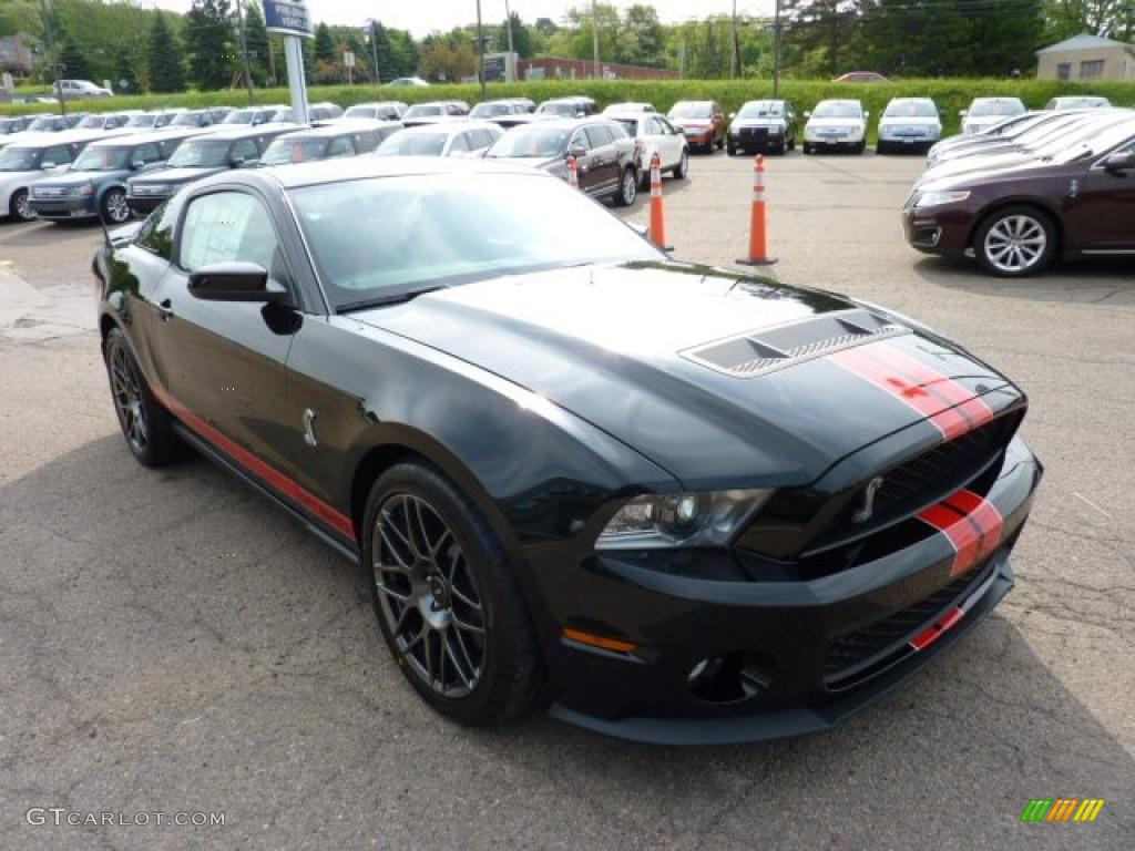 black 2012 ford mustang shelby gt500 svt performance package coupe exterior photo 49817820. Black Bedroom Furniture Sets. Home Design Ideas