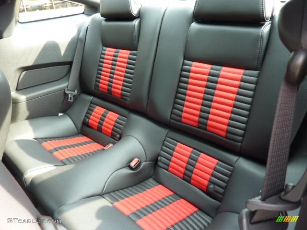 Charcoal Black/Red Recaro Sport Seats Interior 2012 Ford ...