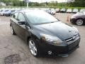 2012 Tuxedo Black Metallic Ford Focus Titanium 5-Door  photo #6