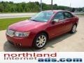 2008 Vivid Red Metallic Lincoln MKZ Sedan  photo #6