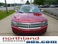 2008 Vivid Red Metallic Lincoln MKZ Sedan  photo #7