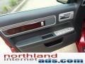 2008 Vivid Red Metallic Lincoln MKZ Sedan  photo #14