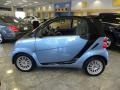 Light Blue Metallic 2011 Smart fortwo passion cabriolet