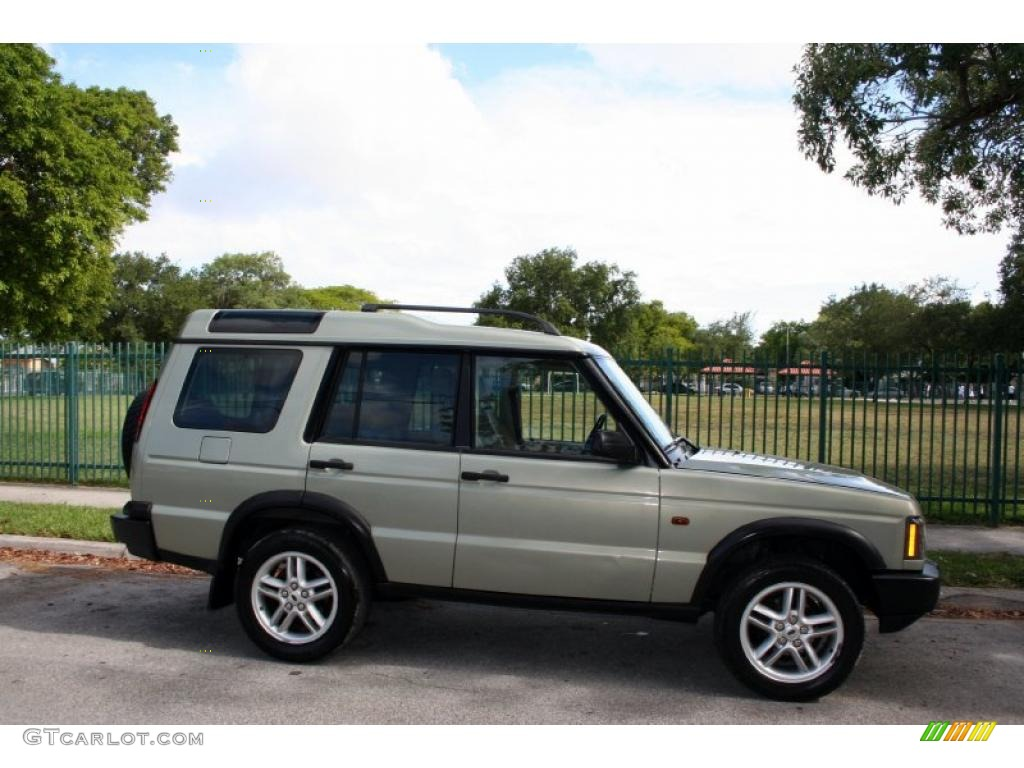 Vienna green 2003 land rover discovery s exterior photo for Range rover exterior design package