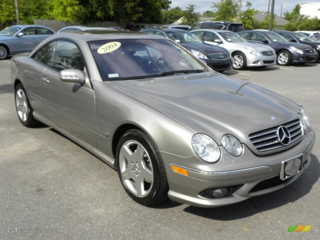 2004 Pewter Silver Metallic Mercedes Benz Cl 500 49799369
