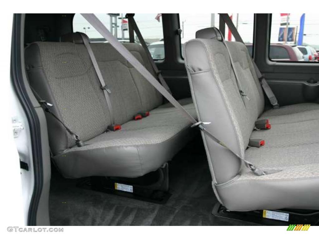 Medium pewter interior 2011 gmc savana van lt 2500 passenger photo 49845142
