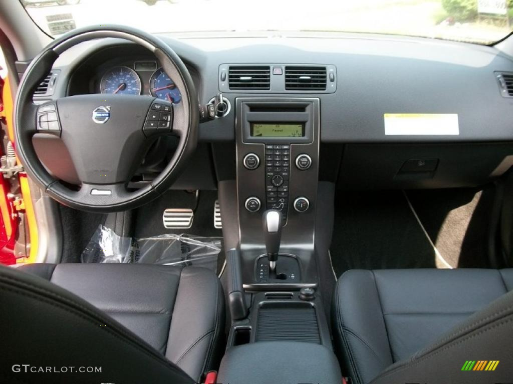 2010 Volvo V50 T5 RDesign R Design Off Black Dashboard Photo