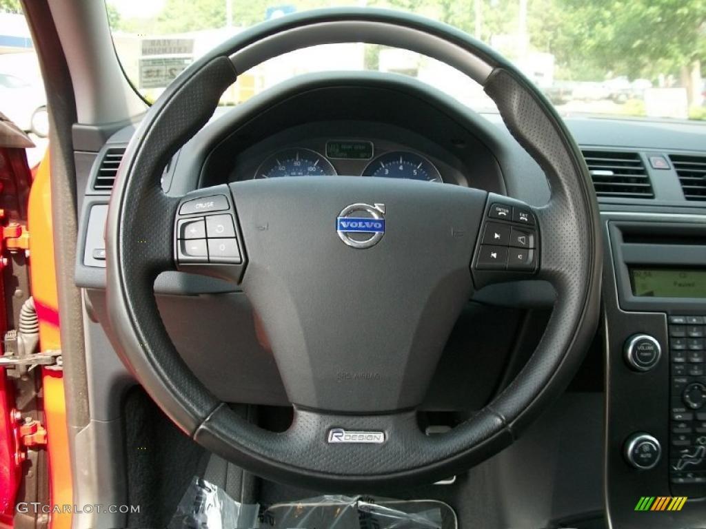 2010 Volvo V50 T5 RDesign R Design Off Black Steering Wheel Photo