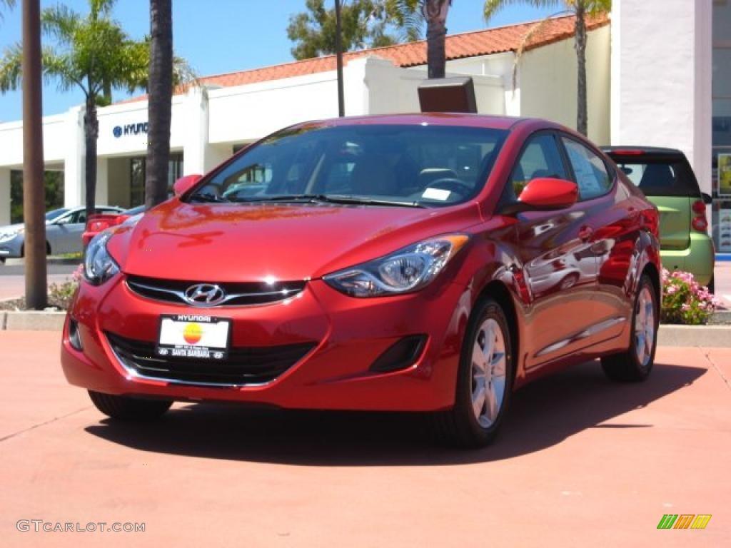 2011 Red Allure Hyundai Elantra Gls 49799023 Gtcarlot